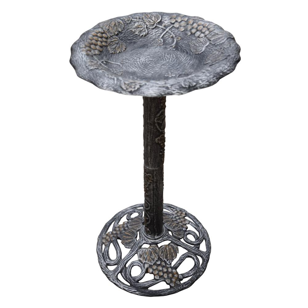 Vineyard Bird Bath Hd5156 Ap The Home Depot