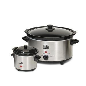 Click here to buy Elite 5 Qt. Slow Cooker by Elite.
