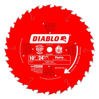 10 in. x 24-Teeth Ripping Saw Blade