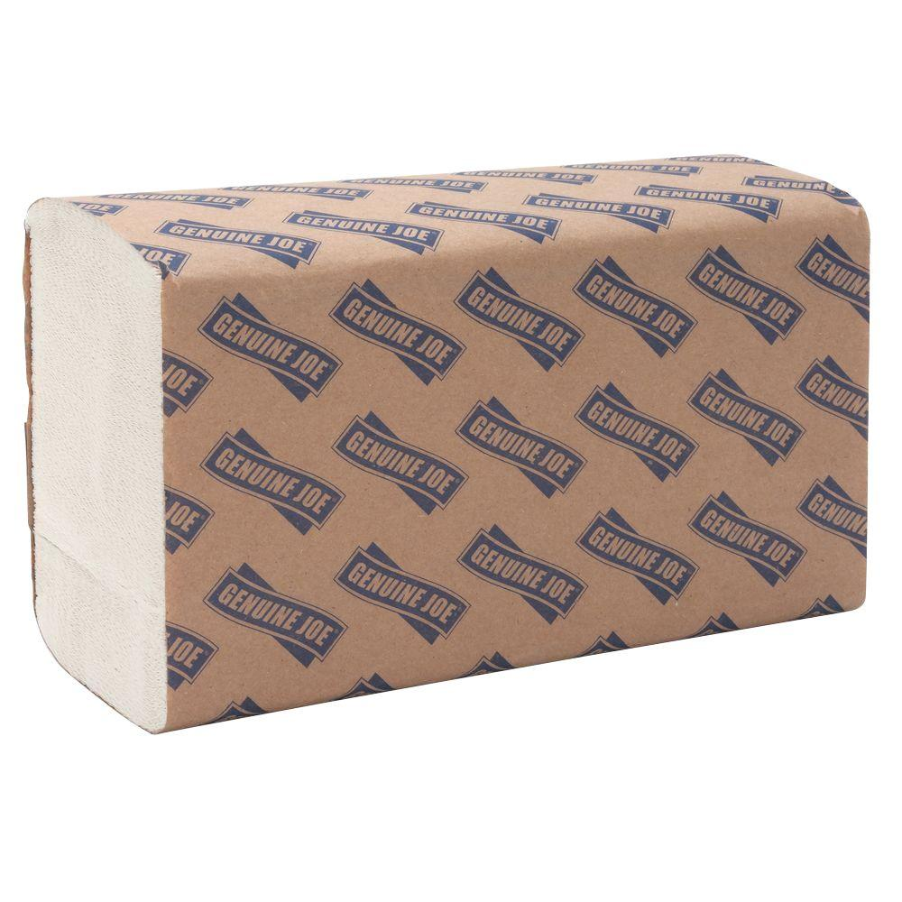 9.5 in. x 9.1 in. Multi-Fold Paper Towels (250 Sheets per