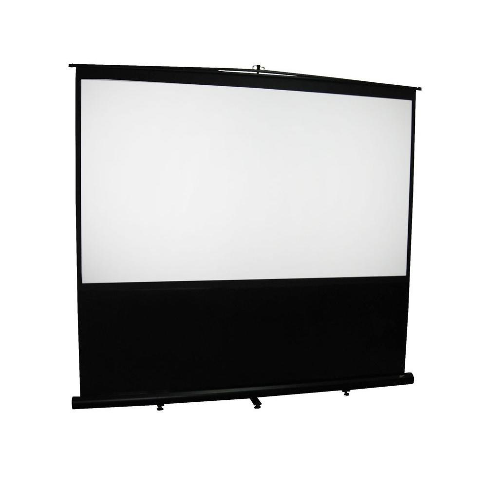 Elite Screens Reflexion Floor 72 in. H x 96 in. W Manual ...