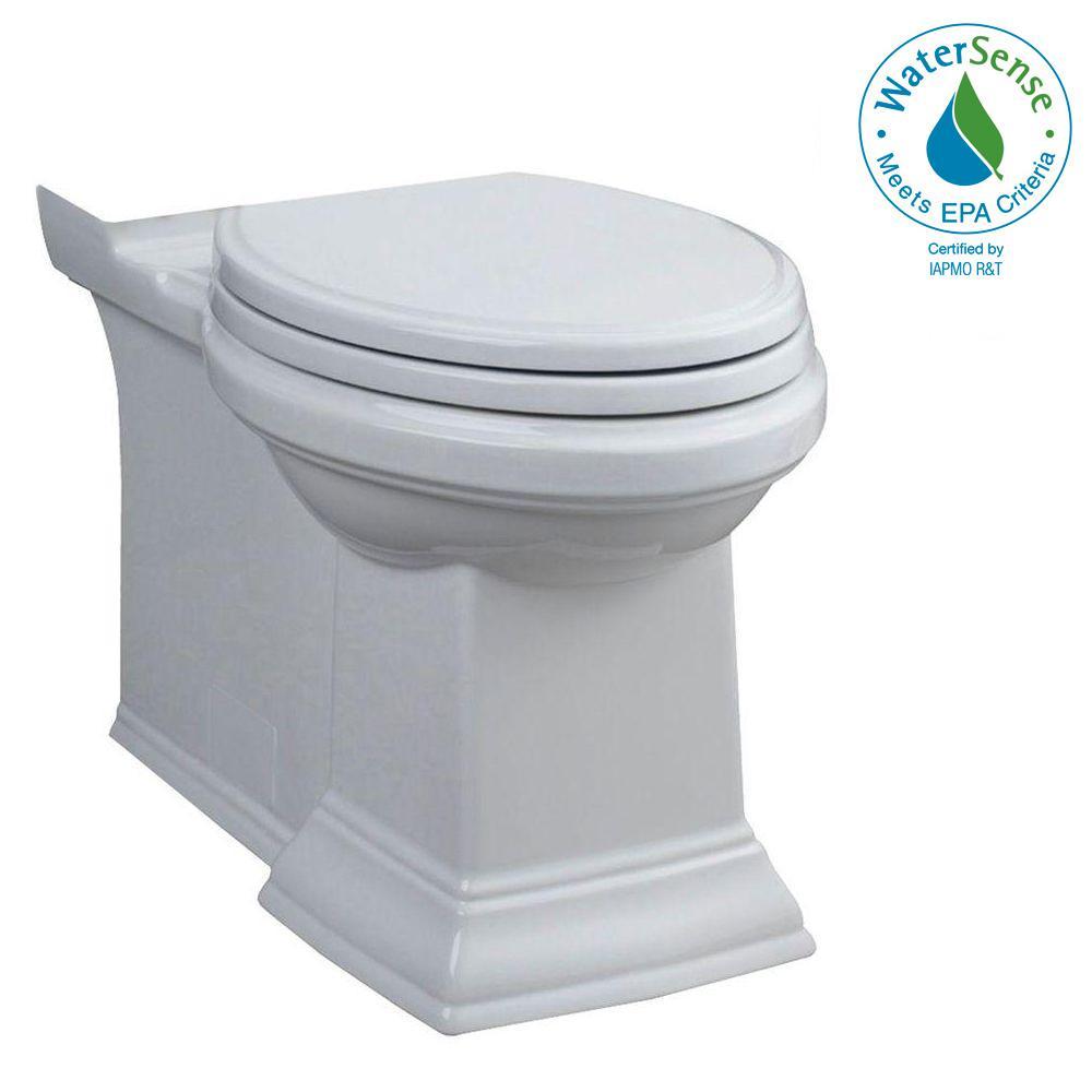 Toto Entrada 2 Piece 1 28 Gpf Single Flush Round Toilet In
