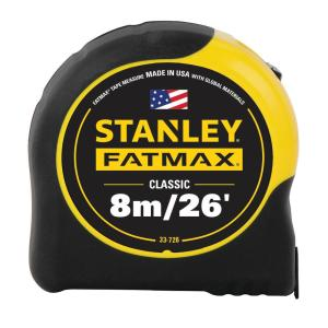 8m / 26 ft. FATMAX Tape Measure (Metric / English Scale)