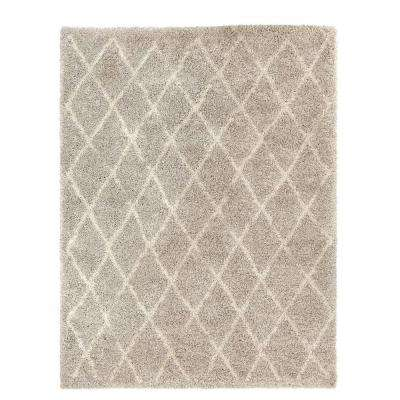 Antique Moroccan Grey 9 ft. 2 in. x 11 ft. 11 in. Area Rug