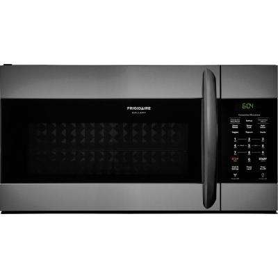 1.5 cu. ft. Over the Range Convection Microwave in Smudge-Proof Black Stainless Steel