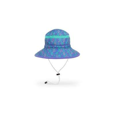 Kids' Fun Bucket Hat Medium Purple Arrow