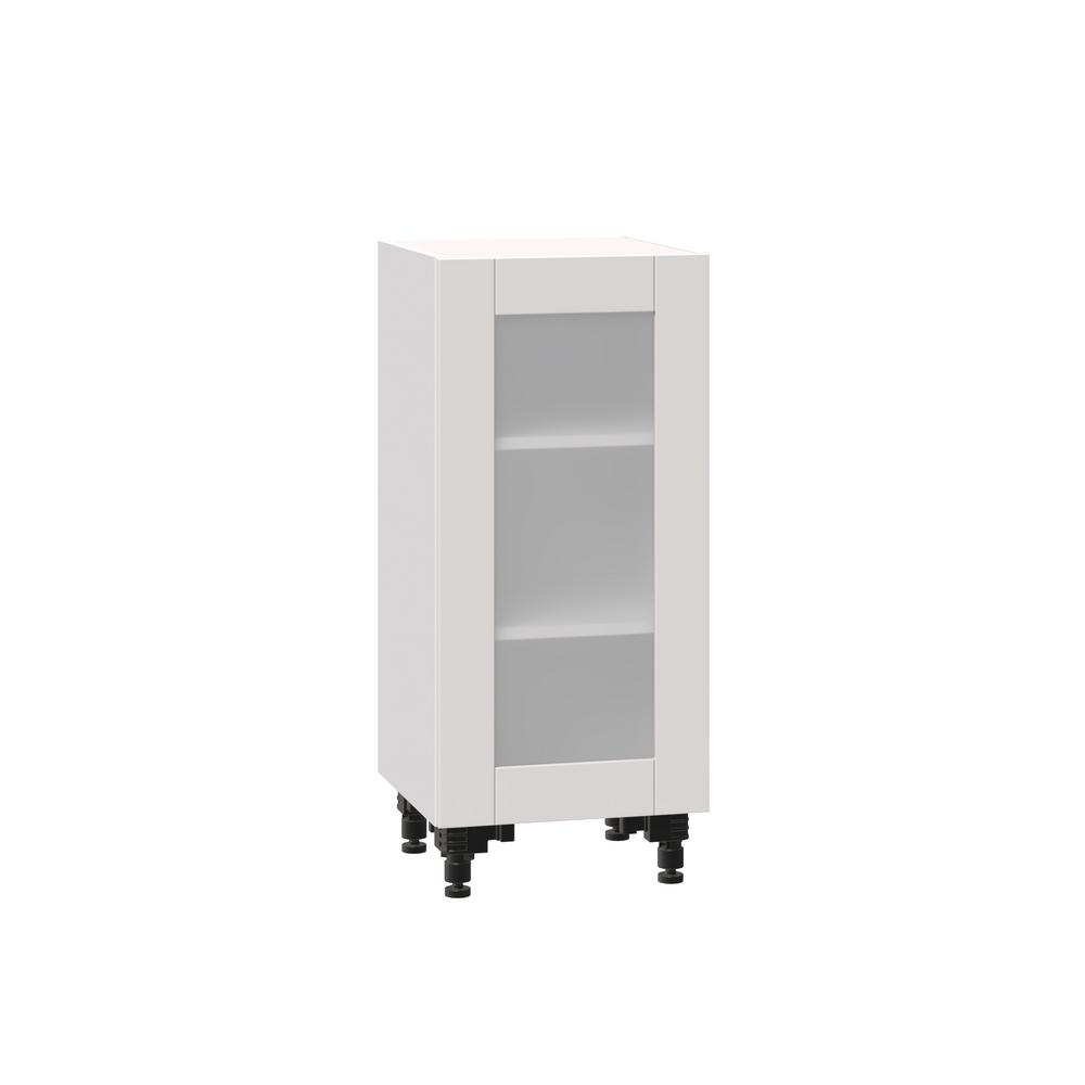 J COLLECTION Shaker Assembled 15x34.5x14 in. Shallow Base ...