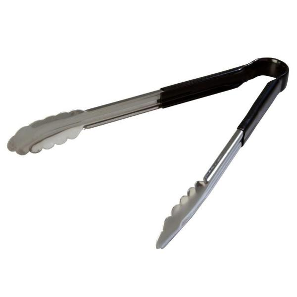 Carlisle Dura-Kool Stainless Steel Black Tongs Set of 12 60756203