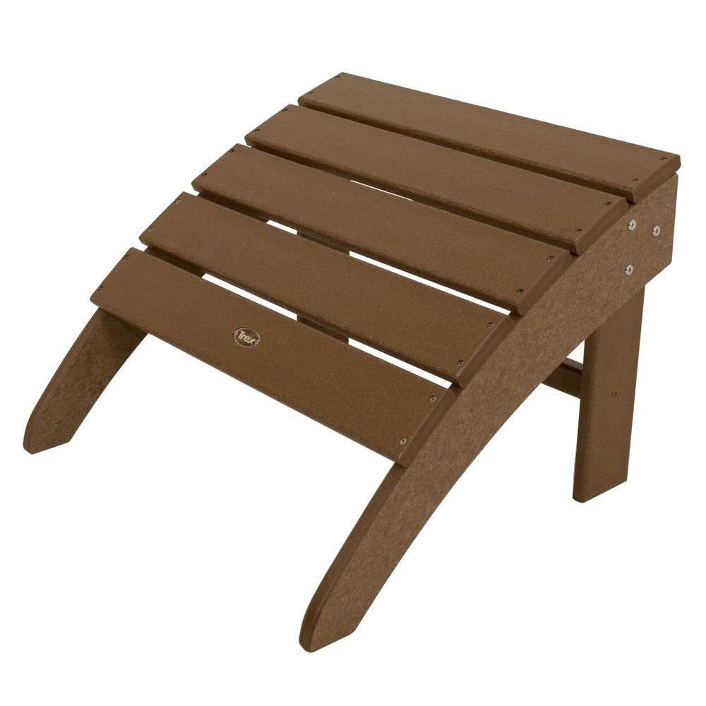 Trex Outdoor Furniture Cape Cod Tree House Patio Ottoman Txo22th The Home Depot