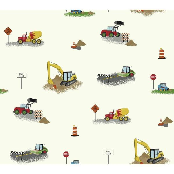 York Wallcoverings Waverly Kids Can You Dig It Wallpaper WK6944