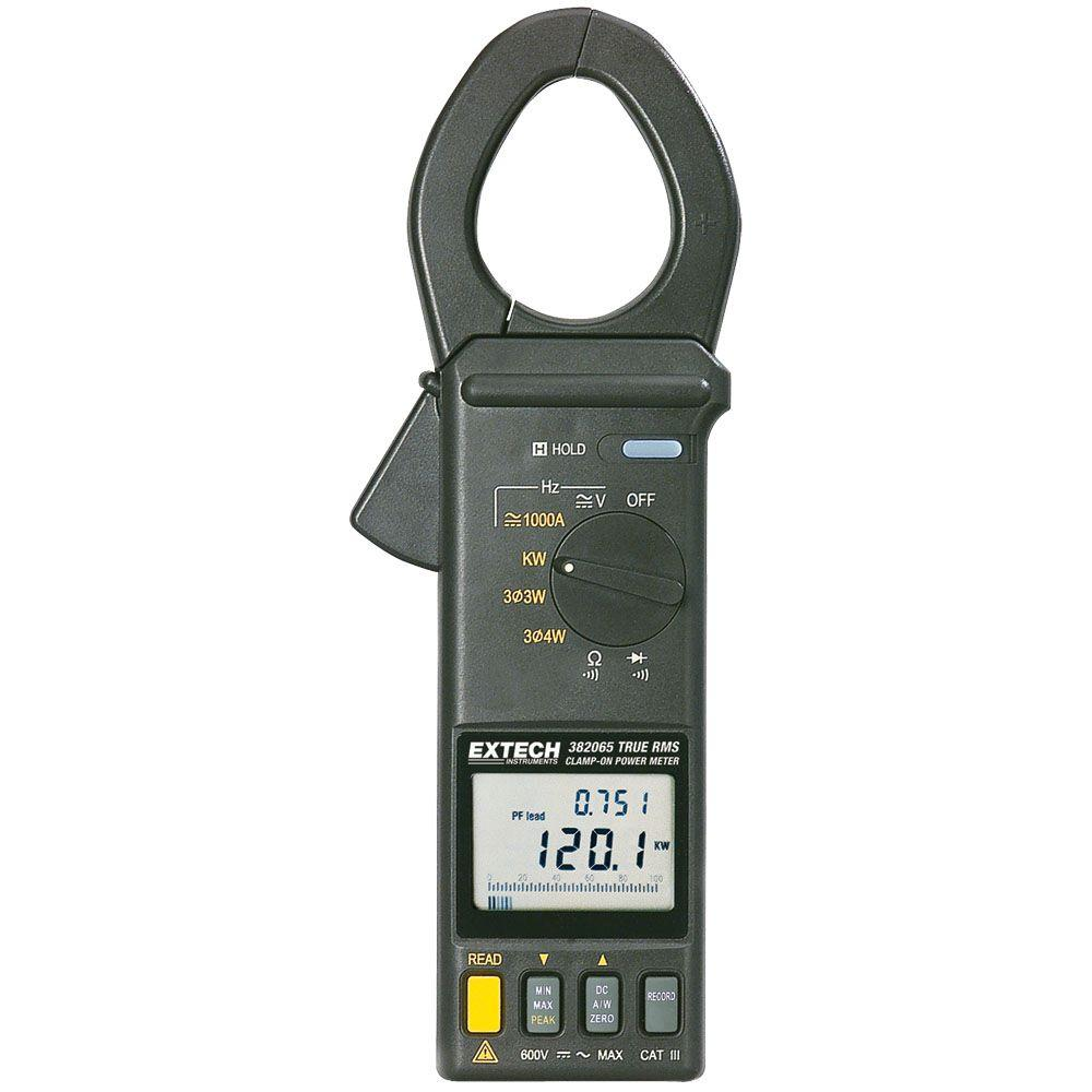 Extech Instruments Manual Clamp Meter Power with RS232 Module/Software