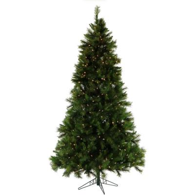 7.5 ft. Pre-Lit Canyon Pine Artificial Christmas Tree with Smart String Lighting