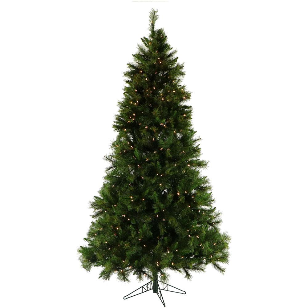 Pre Lit Canyon Pine Artificial Christmas Tree With Smart String