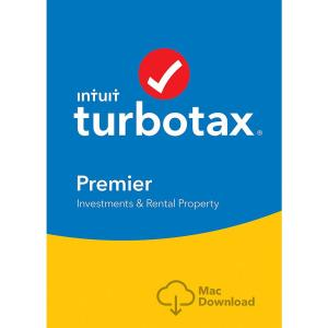 Intuit TurboTax Premier 2017, Federal with State + Efile for Windows or Mac- Disc
