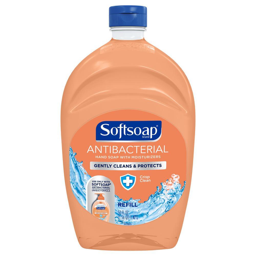 Softsoap 50 Oz Anti Bacterial Crisp Clean Liquid Hand