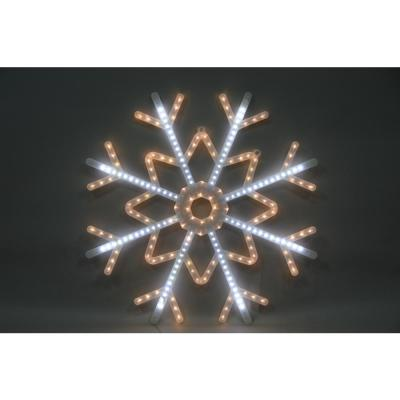39 in. Snowflake Yard Décor, Lighted