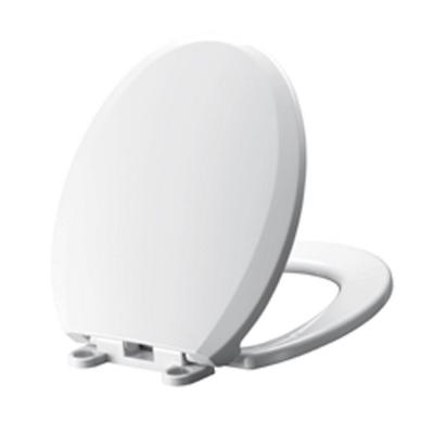 Cadet Slow Close EverClean Round Slow Close Toilet Seat in White