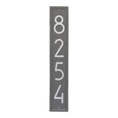 Vertical Modern Personalized Rectangle Wall Plaque