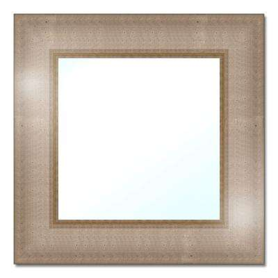 18-1/2 in. W x 18-1/2 in. H Polystyrene Framed Mirror