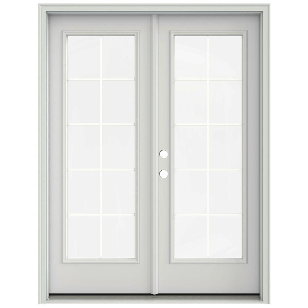 Jeld wen 60 in x 80 in primed prehung right hand inswing - Installing prehung exterior door on concrete ...