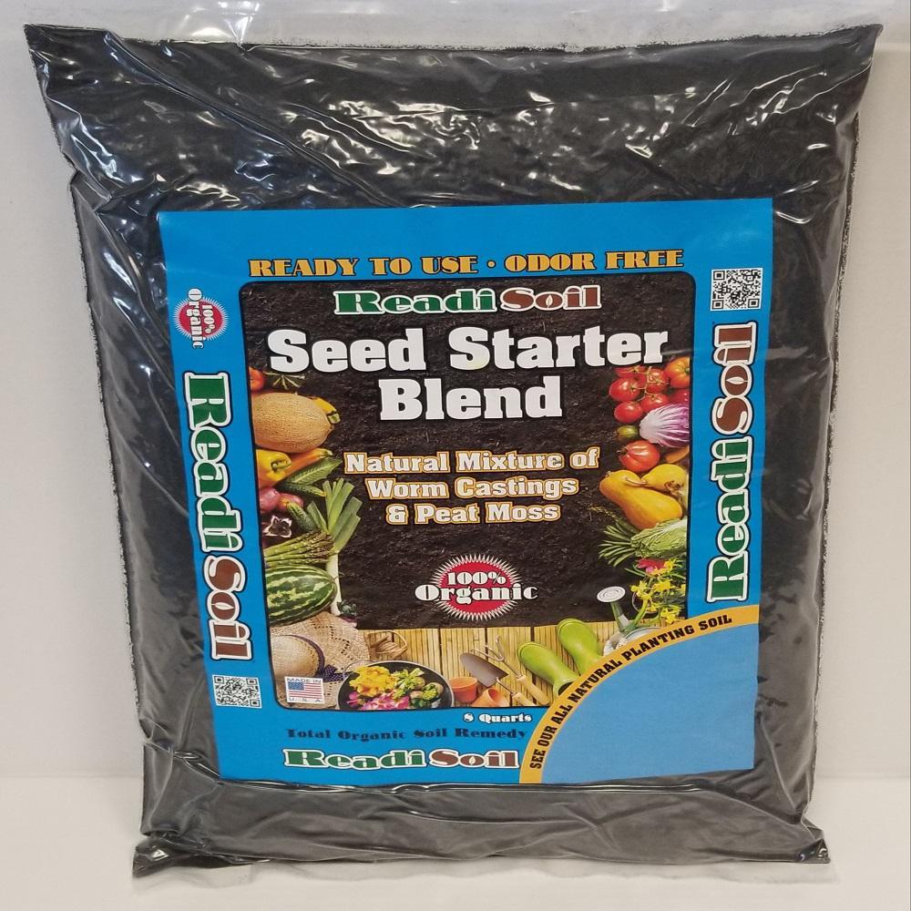 8 Qt. 100% Organic Worm Castings Seed Starter