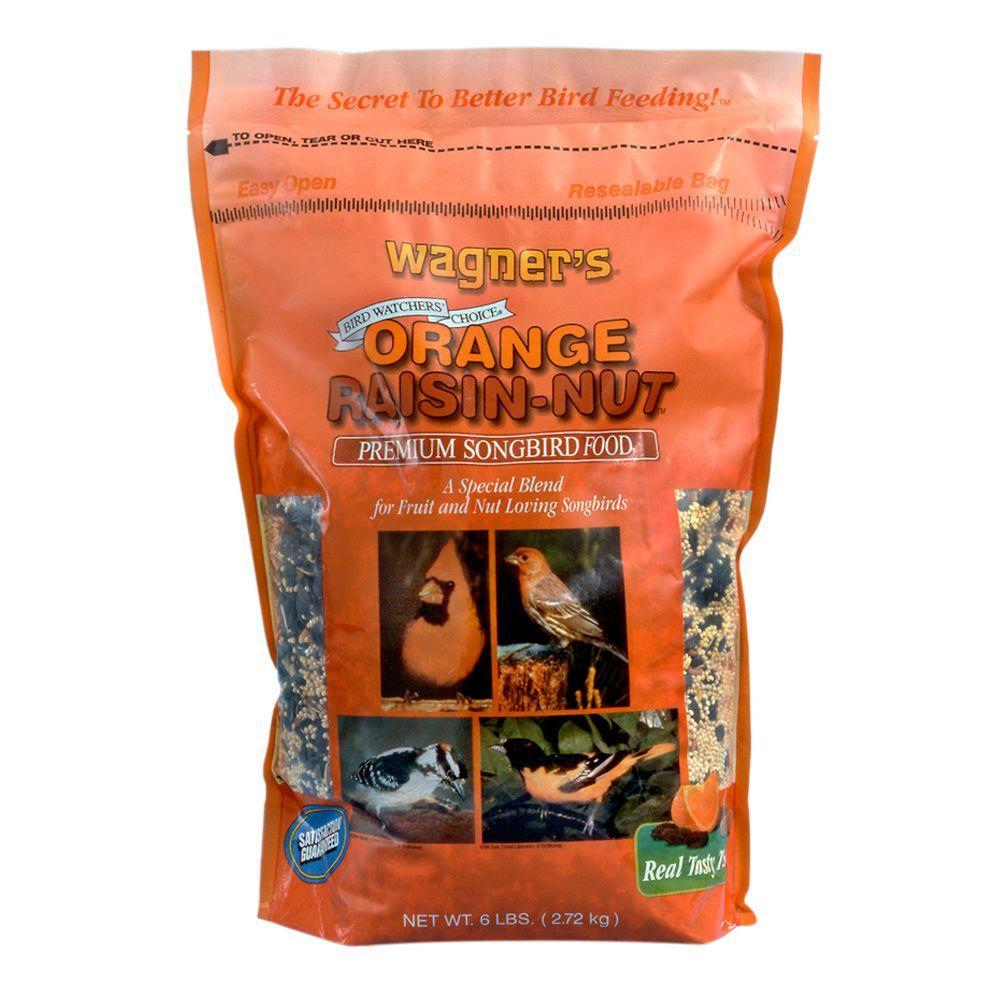 6 lb. Orange Raisin-Nut Premium Songbird Blend Wild Bird Food