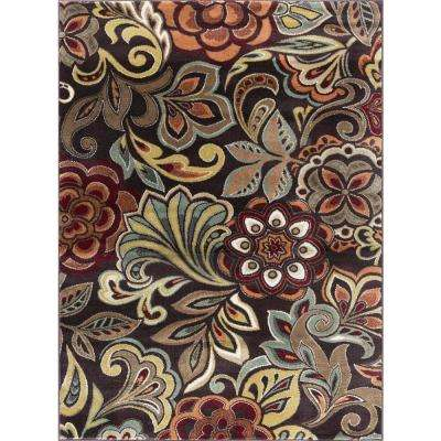 Deco Brown 9 ft. x 13 ft. Area Rug