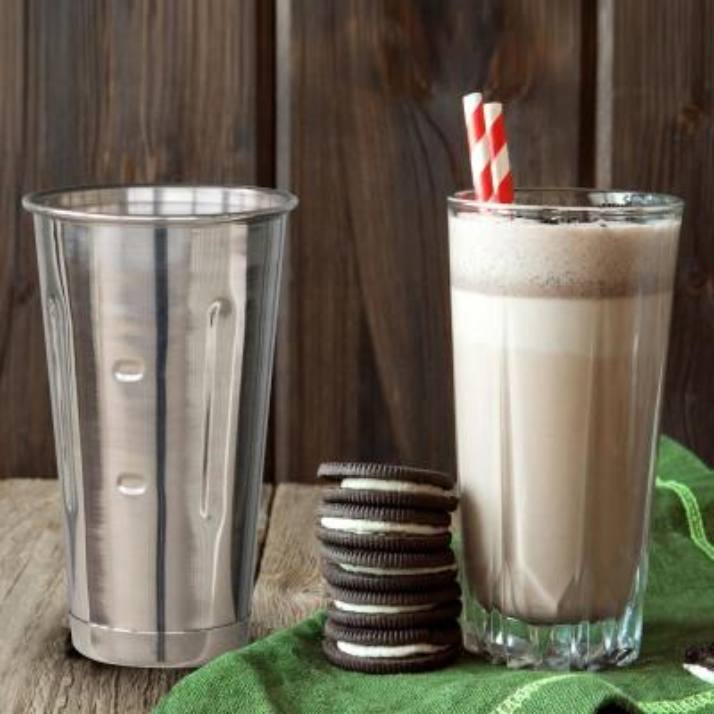 30 oz. Stainless Steel Malt Cup (6-Piece)