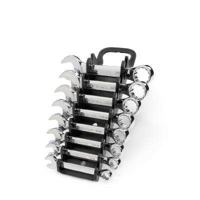 5/16-3/4 in. Stubby Combination Wrench Set (8-Piece)