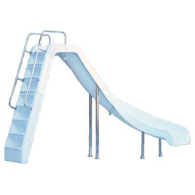 Wild Ride Complete Right Turn Pool Slide