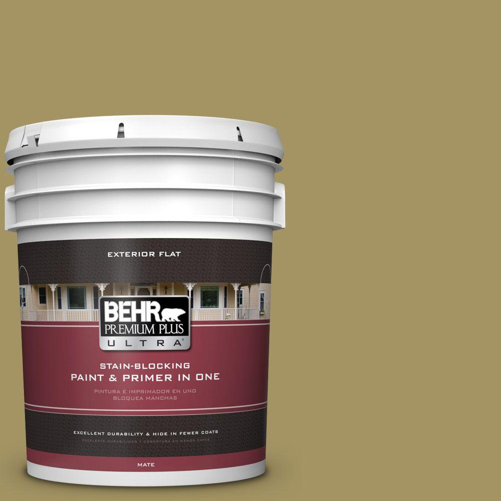 BEHR Premium Plus Ultra 5-gal. #M330-6 Keemun Flat Exterior Paint