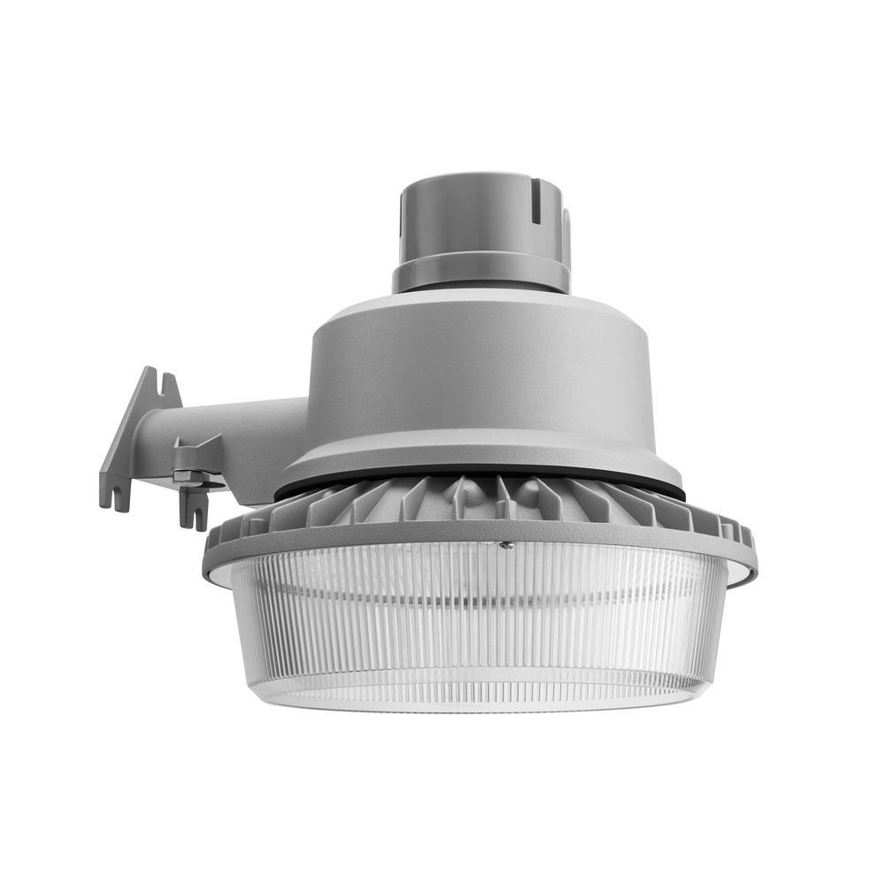 Lithonia Lighting TDD2 LED Gray Natural Metal Outdoor