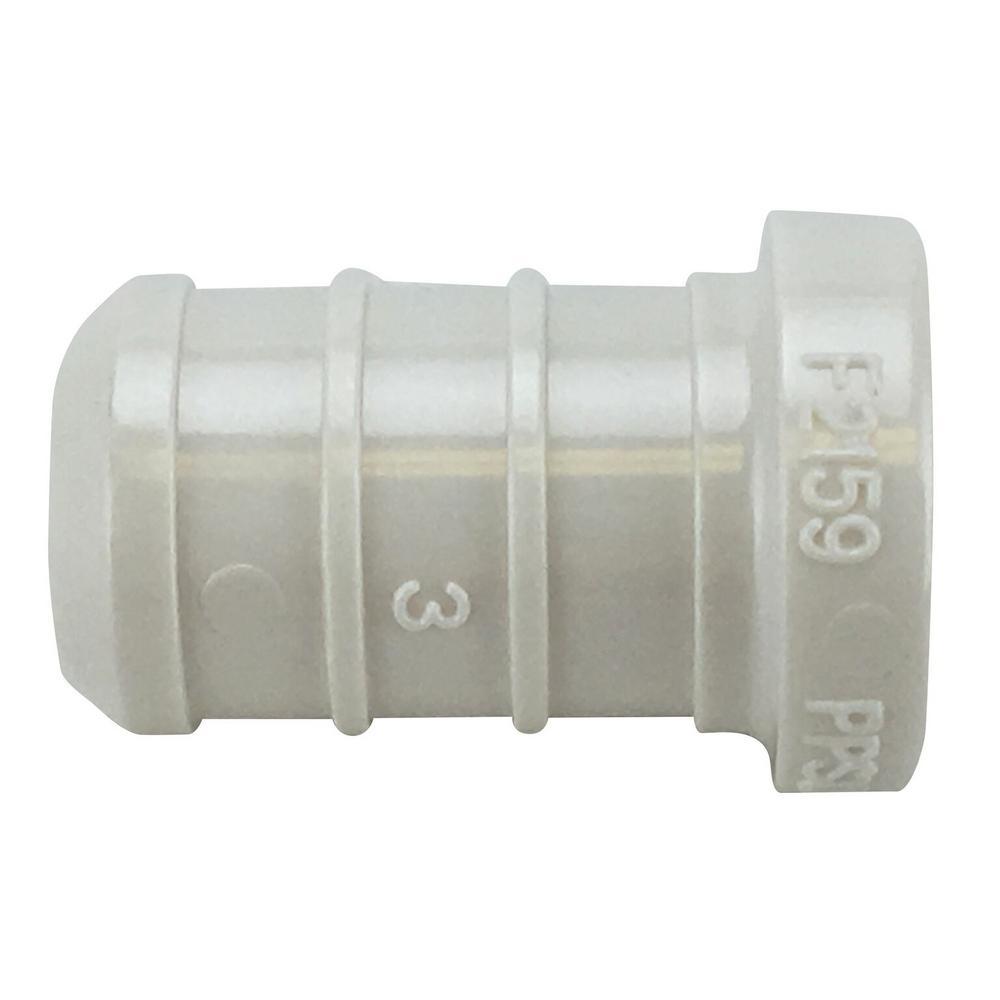1/2 in. Plastic PEX Barb Plug Jar (100-Pack)