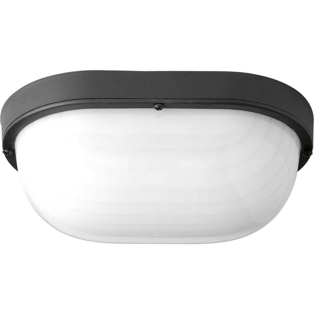 1-Light Black LED Bulkhead