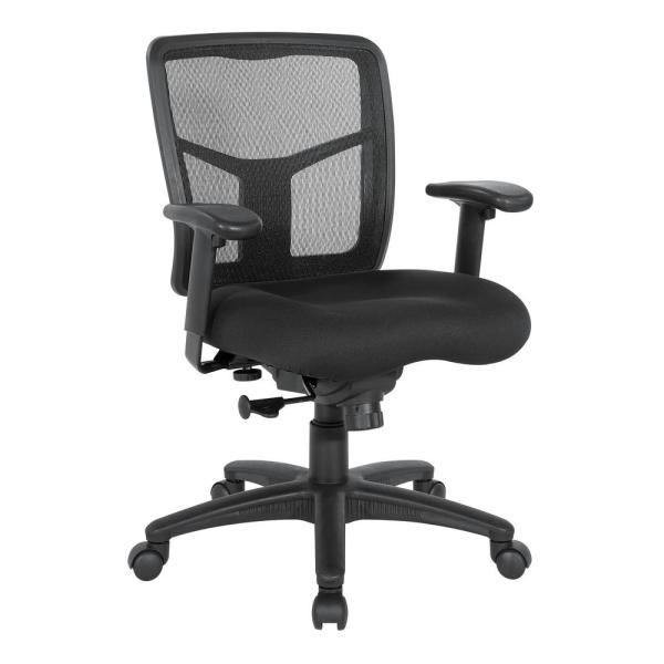 Office Star Products Mesh Black