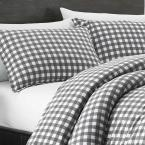 Eddie Bauer Preston 3-Piece Grey Full/Queen Comforter Set