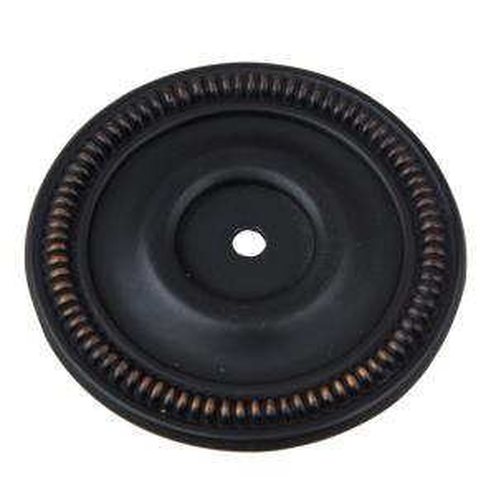 "Vintage Oval Door Knob Backplate 7/"" x 2 1//4/"""