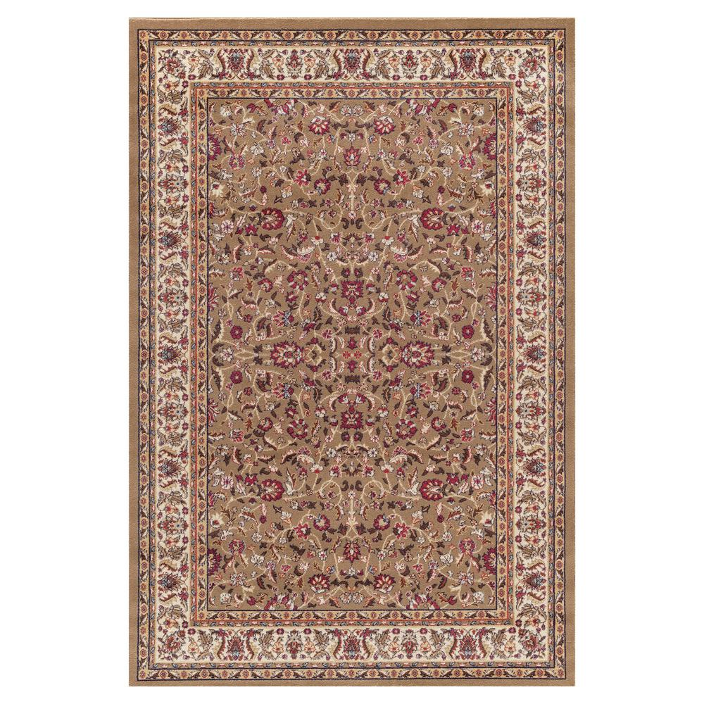 Concord Global Trading Jewel Kashan Green 7 ft. 10 in. x 9 ft. 10 in. Area Rug