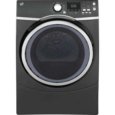 7.5 cu. ft. High Efficiency Electric Front Load Dryer with Steam in Diamond Gray