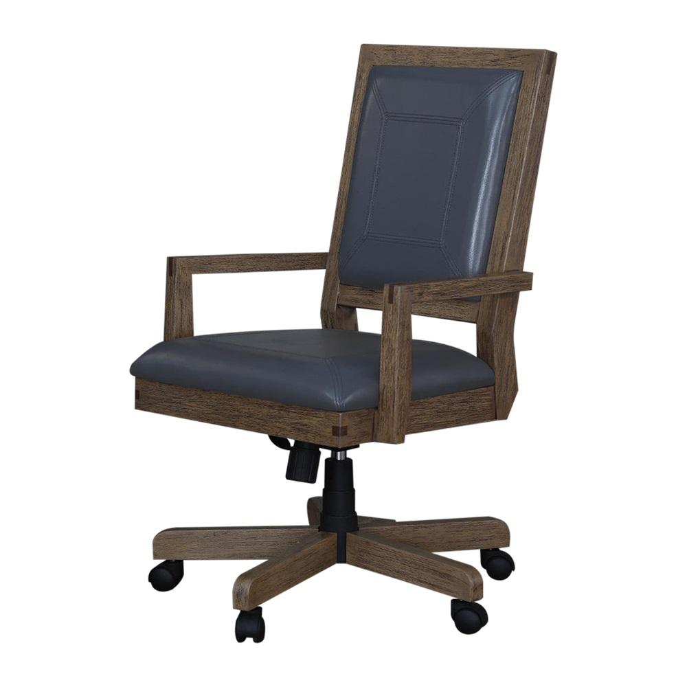 Turnkey Products Fremont Toffee Task Arm Chair