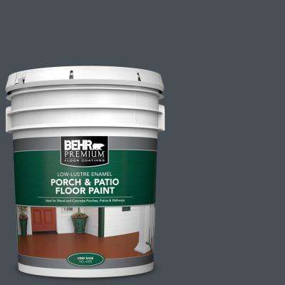 5 gal. #PPU25-22 Chimney Low-Lustre Enamel Interior/Exterior Porch and Patio Floor Paint