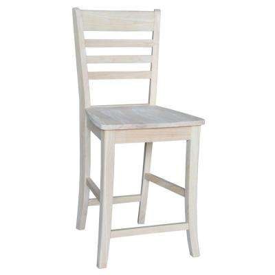 International Concepts Roma 24 inch Unfinished Wood Bar Stool