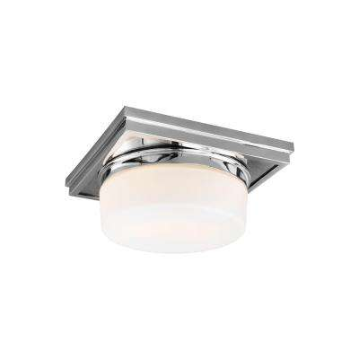 Mandie 2-Light Chrome Flushmount