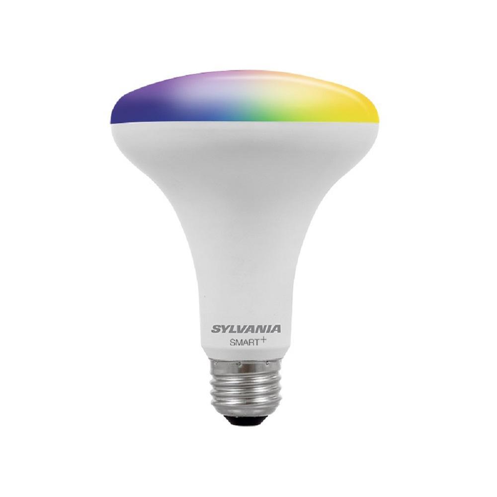 Sylvania SMART+ Bluetooth 65-Watt Equivalent Full Color BR30 LED ...