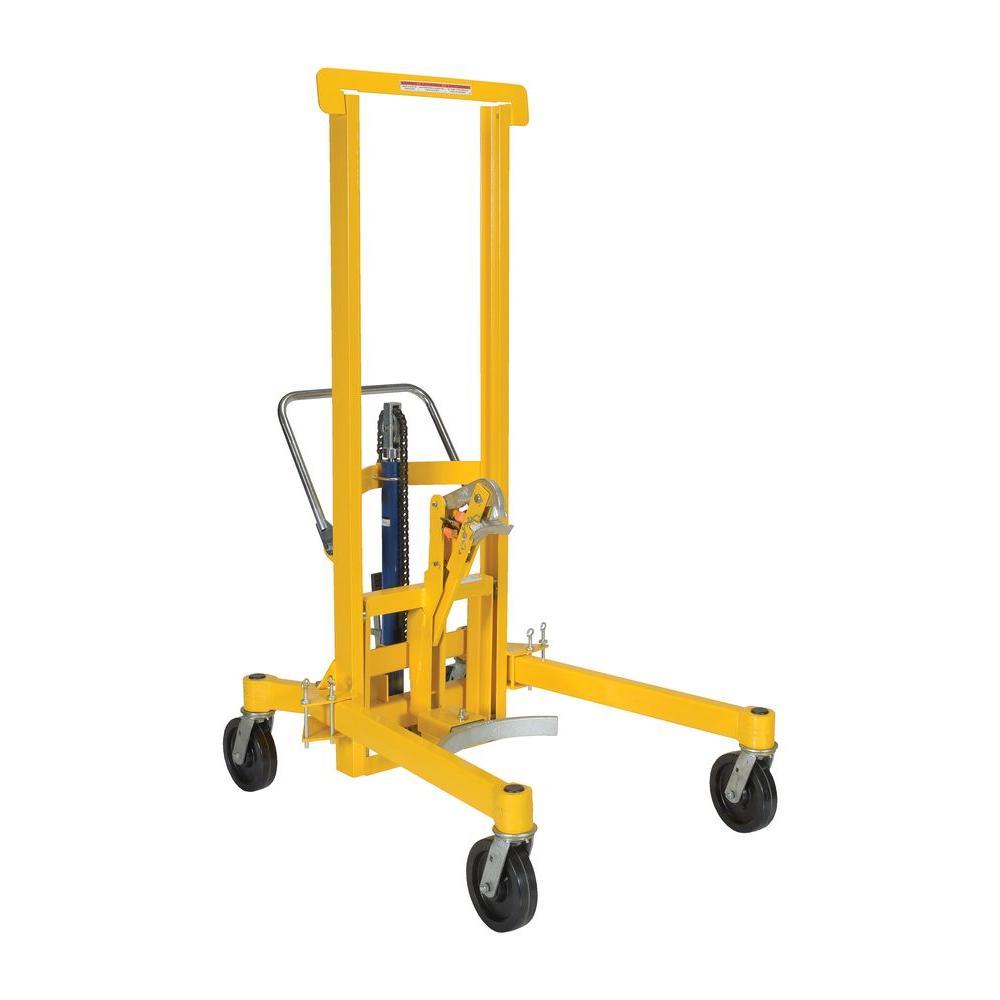 Vestil 880 lb. Capacity Foot Pump Drum Transporter/Control