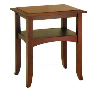 Craftsman Walnut End Table