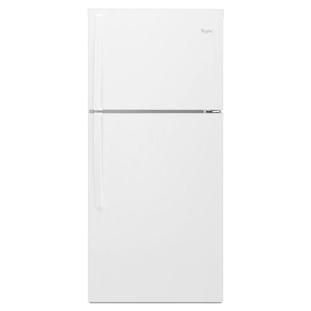 Whirlpool 19.2 cu. ft. Top Freezer Refrigerator in White,...