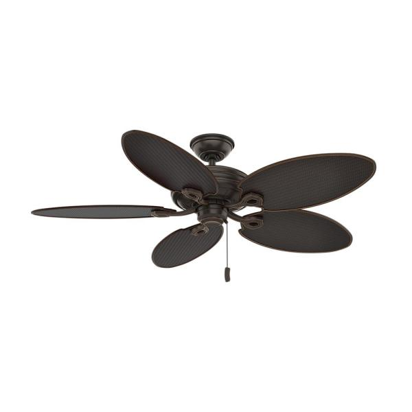 Charthouse 54 in. Outdoor Onyx Bengal Ceiling Fan
