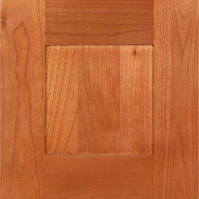 12.75x12.75x.75 in. Elice Ready to Assemble Cabinet Door Sample in Cumin