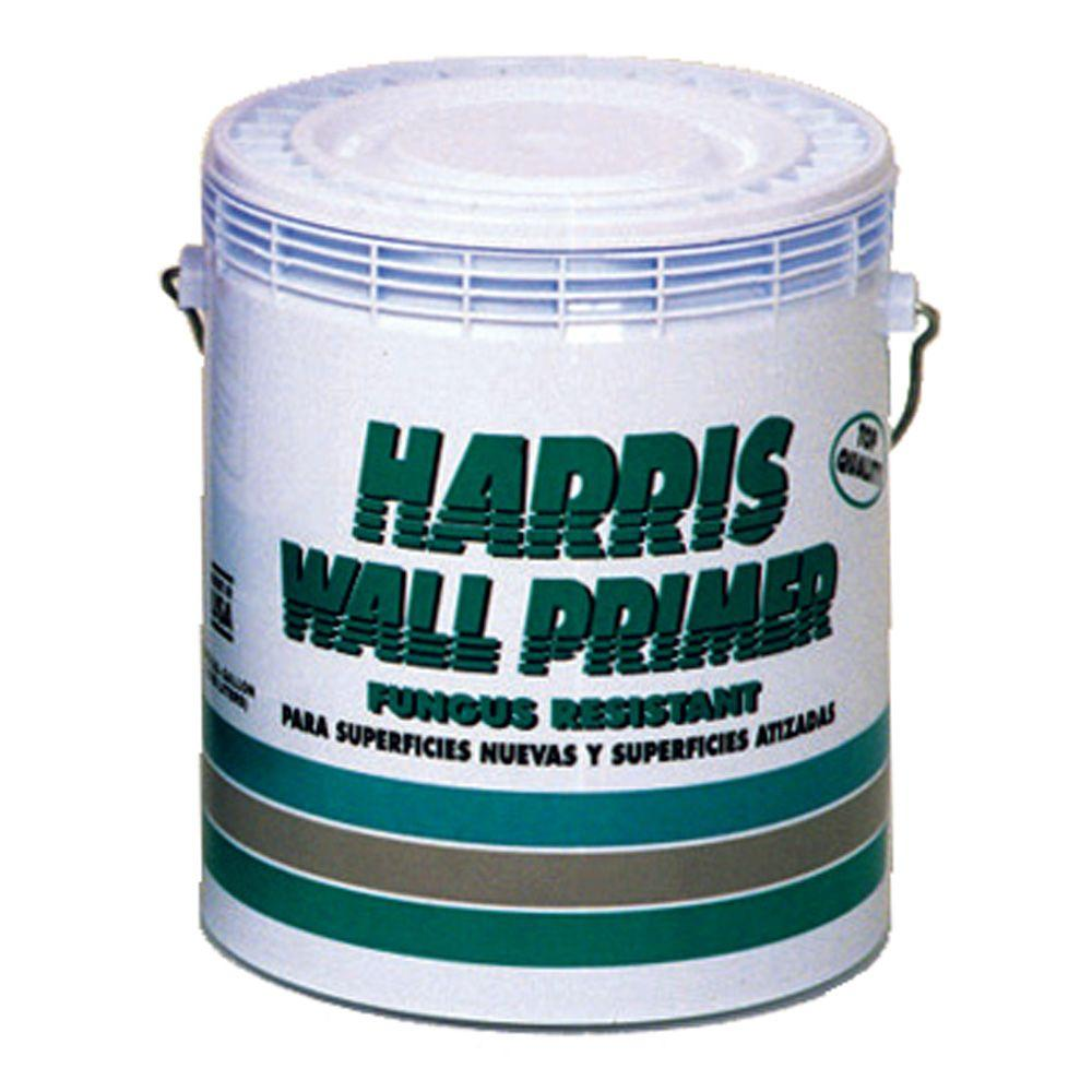 Harris 1 gal. Water-Based White Interior/Exterior Wall Primer